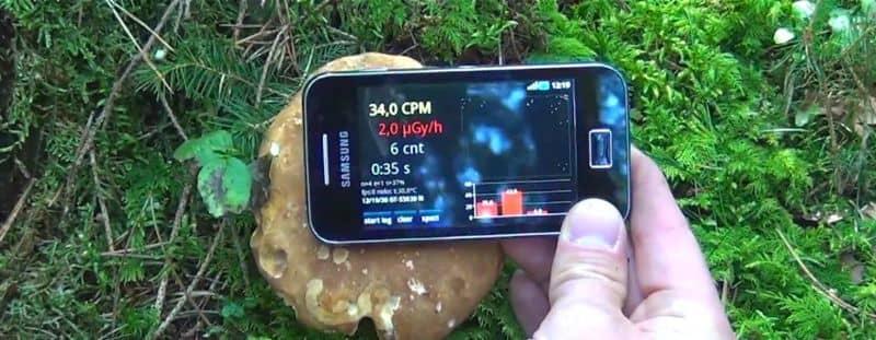 Aplicação móvel SAR Radiation