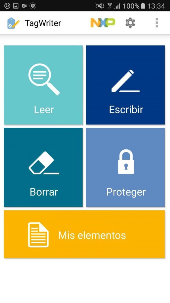 Informações do cartão no celular Android