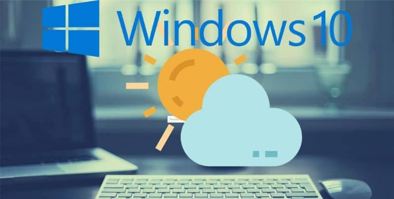 Clima do Windows 10