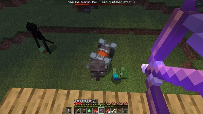 Aldeões zumbis do Minecraft