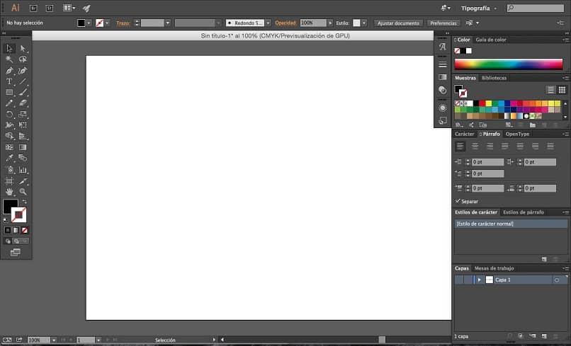 Adobe Illustrator e sua extensão .AI