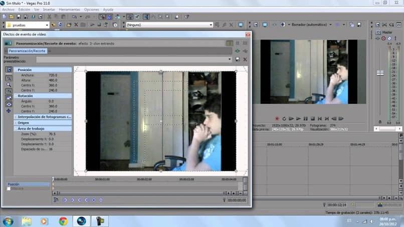 edite dois vídeos em um