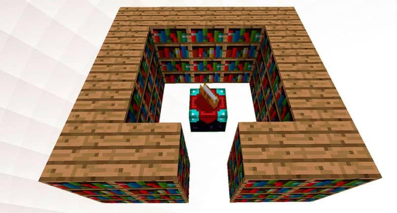 Proteja objetos com feitiços no Minecraft
