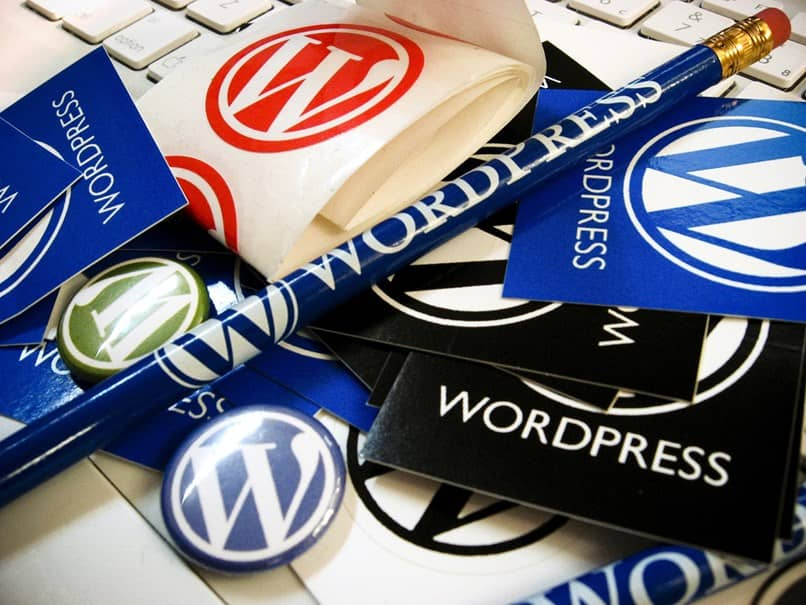vários folhetos wordpress