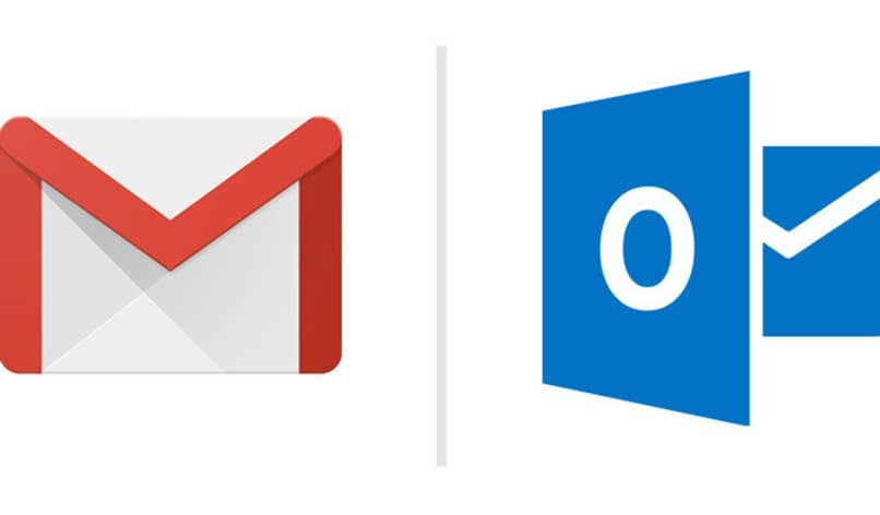 gmail outlook iconos