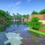 jogar minecraft lake