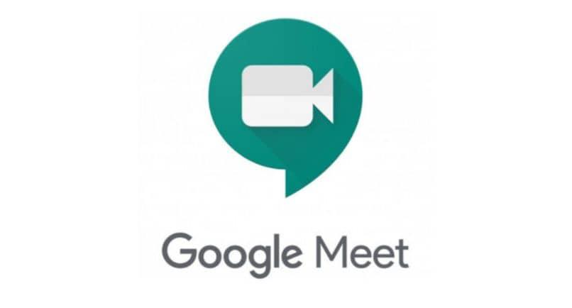 fundo branco do logotipo da câmera do google meet
