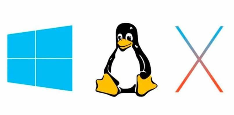 microsoft windows linux pinguino equis ventana