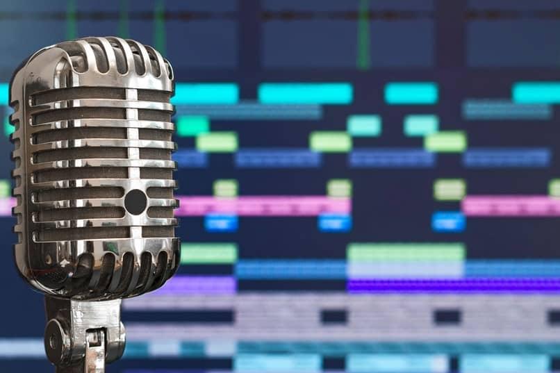 microfone de gravação de estúdio
