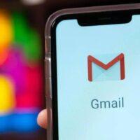 fundo desfocado dedo gmail