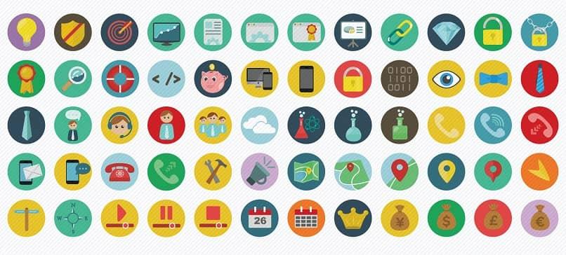 criar ícones planos no Adobe Illustrator