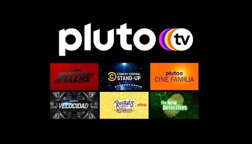 veja opções e canais de tv plutão