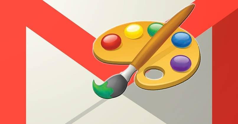 paleta de colores gmail