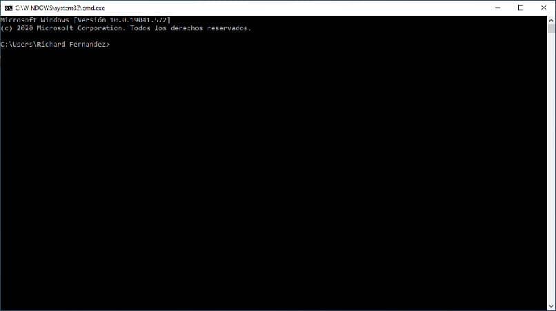 configurando o comando de símbolo do sistema