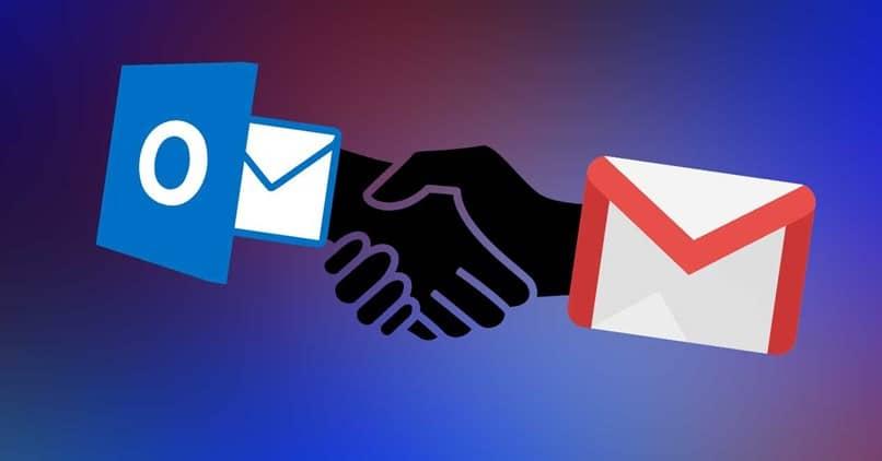 mãos eu lido com e-mails