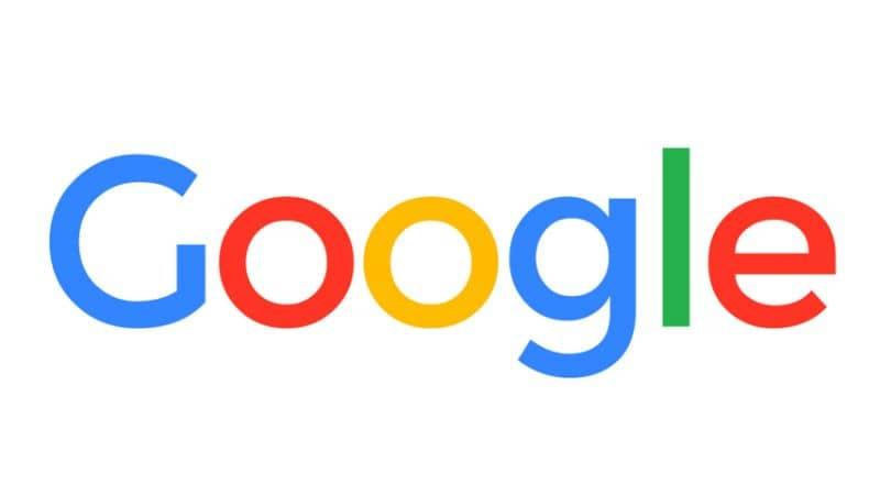 Fundo branco do logotipo do Google