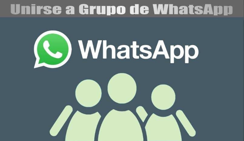 logo whatsapp grupo silhueta fundo azul