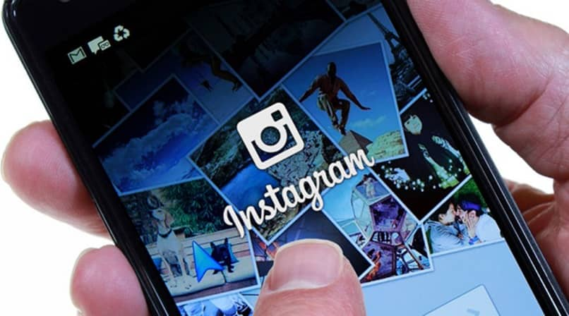 usuário tentando entrar no instagram